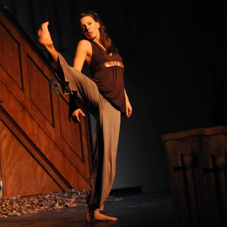 Ulla Benninghoven ist Teil des Tanz und Performance Netzwerk Schleswig-Holstein